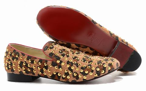 chaussure leopard homme louboutin