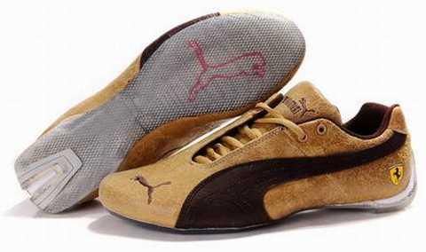 chaussures puma marron