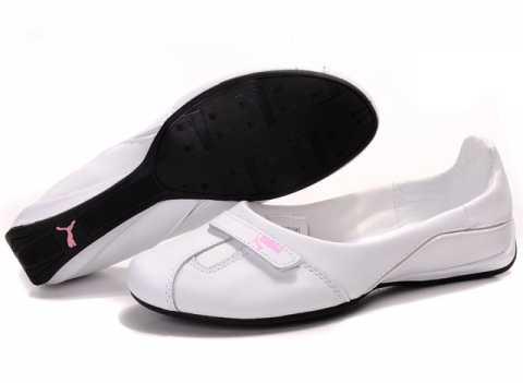 Chaussure Puma Cuir