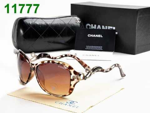 Chanel Lunettes Collection Bijou Lunettes De Soleil Blanches Chanel