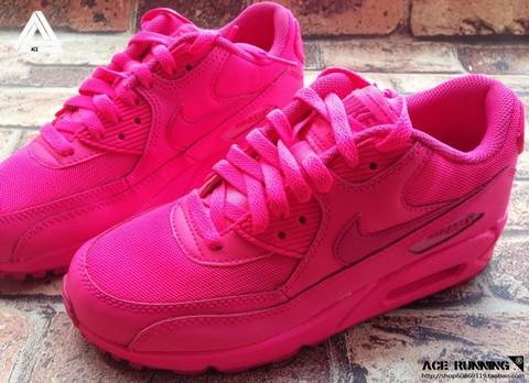 Baskets Nike Rose Fluo Femme