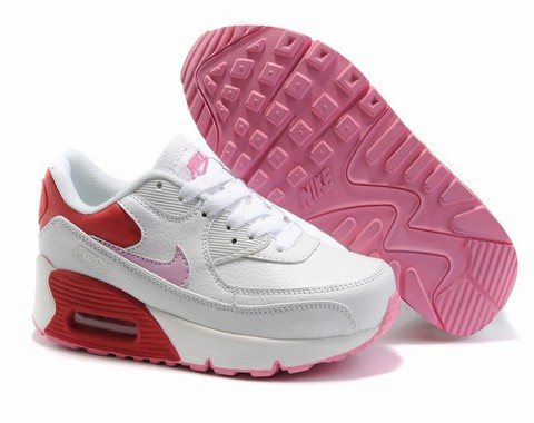air max 90 blanche et rose