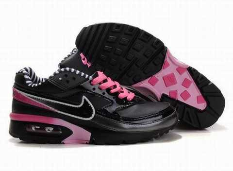 nike air max bw noir et rose