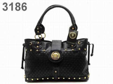sac versace new collection,sac versace noir