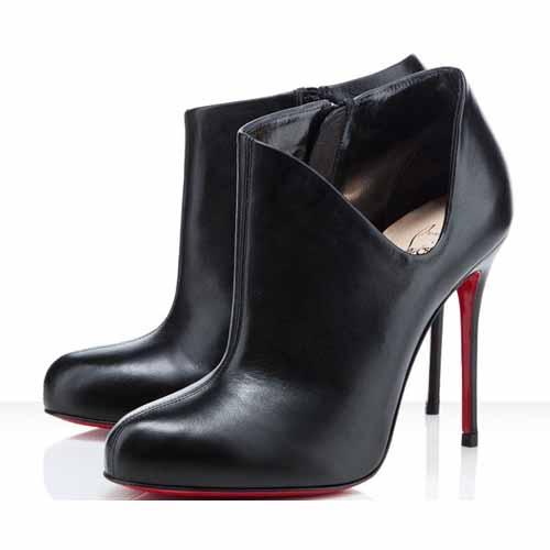louboutin low boots pas cher